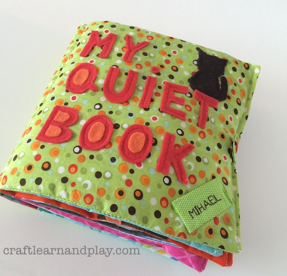 toddler boy quiet book