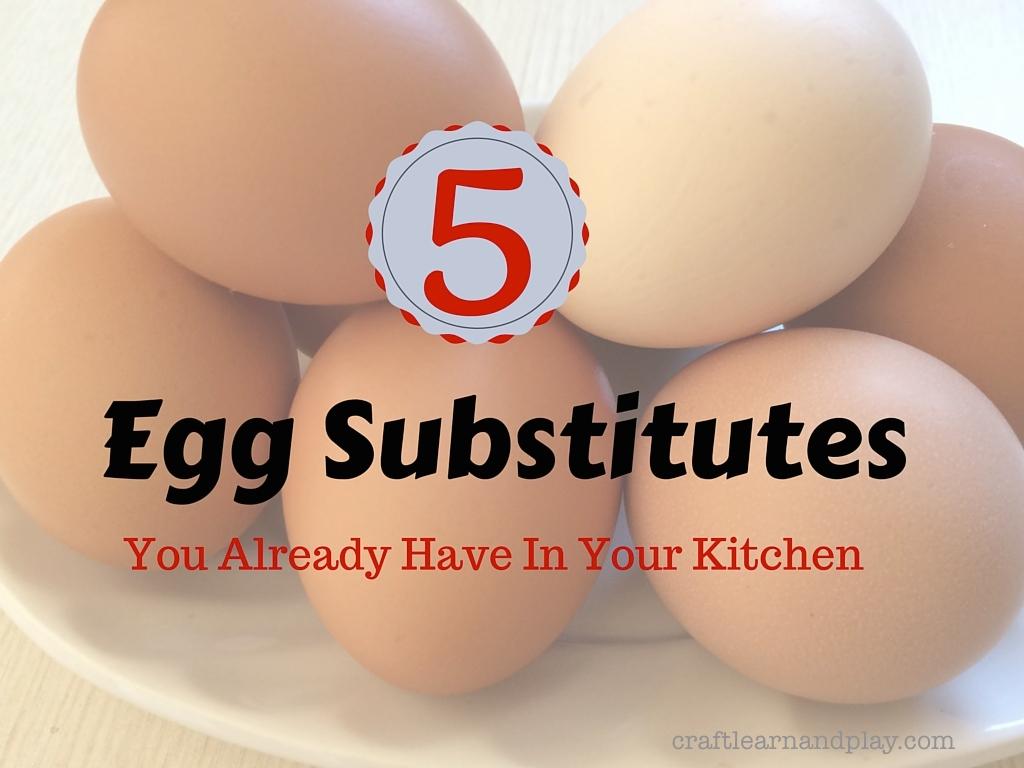 Egg Substitutes for Vegans