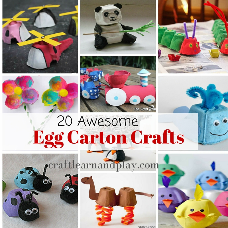 egg carton crafts 20 awesome egg crafts ideas to make craft learn 1946