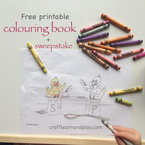 free colouring book printable